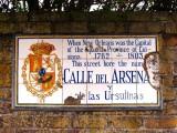 Calle del Arsenal de las Ursulinas → Rue des Ursulines → Ursuline Avenue