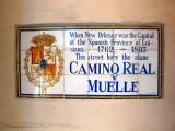 Camino Real y Muelle → Rue de la Levee → Decatur Street