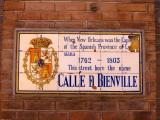 Calle D Bienville → Rue Bienville → Bienville Ave