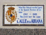 Calle D la Aduana → Rue de la Douane → Iberville Street