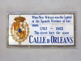 Calle D Orleans → Rue D' Orleans → Orleans Street
