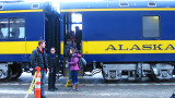 Anchorage to Fairbanks by Rail - March 2013