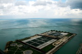 Jardine Water Purification Plant, view from Lake Point Tower 70th floor, Chicago, IL - Open House Chicago 2012