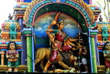 Mahisasura Maridini , Sree Ganesh Temple,  Alappuzha, Kerala