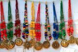 Necklaces for sale, Mullackal, Alappuzha, Kerala