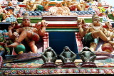 See no evil, Speak no evil, Hear no evil, Sree Ganesh Temple, Alappuzha, Kerala