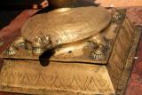 Turtle bearing the load, Sree Ganesh Temple, Alappuzha, Kerala