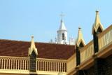 Spires, St. Andrew's Basilica, Arthunkal, Kerala