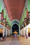 Interiors, St. Andrew's Basilica, Arthunkal, Kerala