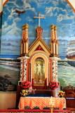St.Sebastian idol, St. Andrew's Basilica, Arthunkal, Kerala