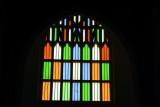 Stained Glass Window, St. Andrew's Basilica, Arthunkal, Kerala