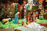 Nativity scene, St. Andrew's Basilica, Arthunkal, Kerala