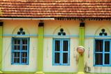 Windows, St. Andrew's Basilica, Arthunkal, Kerala