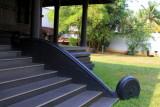 Tongue steps, Travancore Palace Restaurant, Cherthala, Kerala