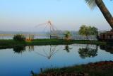 Cheena vala, Chinese Fishing net, Lake Vembanad, Vasundhara Sarovar Premiere, Vayalar, Kerala