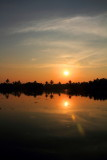 Sunset, Lake Vembanad, Vayalar, Kerala
