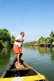 Boating, Backwaters, Kumarakom, Kerala
