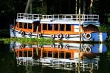 Boat, backwaters, Kumarakom, Kerala