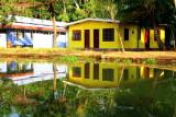 House, backwaters, Kumarakom, Kerala