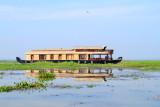Houseboat, Lake Vembanad, Kumarakom, Kerala