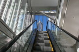 Prudential tower, Escalator, Modern Wing, Chicago Art Institute