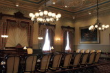 Old Senate room, Maryland State House, Annapolis, Maryland