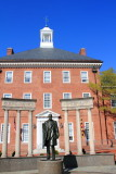 Court house, Thurgood Marshall Memorial, Lawyer Mall, Annapolis, Maryland