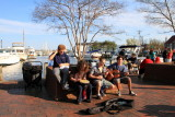 Musicians, Chesapeake bay boats, Annapolis, Maryland