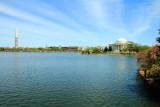 Washington Monument, Jefferson Memorial, Cherry Blossoms, Tidal Basin, Washington D.C.