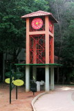 The Cubbon Park clock tower, Bangalore