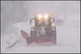 Massive snowfall at Rockneby near Kalmar