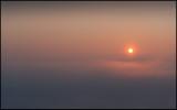 Sunrise near river Segre