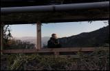 Self portrait - standing outside Steve West´s Bonellihide in Spain