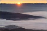 Sunrise over Tremp -4 degrees Celcius