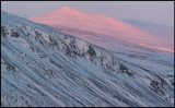 The first morning sunrays at Heargeloapmi (1411m) near Nikkaluokta  - Lapland