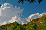 clouds over Samahni hills