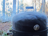 22 A bit too much smoke for the turkey breast! 6554