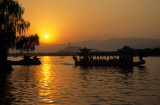 Tourist Boat Sunset