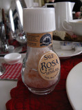 Unusual salt at our breakfast table .. 4815