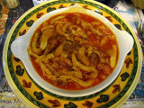 Trippa alla fiorentina ( tripe stewed with  tomatoes ) .. 5803.jpg