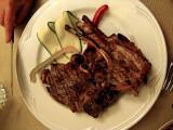 Grilled lamb steaks .. 6455