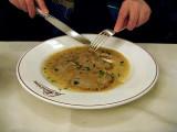 Veal scaloppine in lemon sauce .. 7047