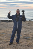 The discoverer of the Snowy owl, means me