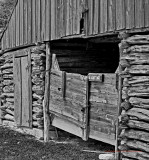 Old Stable in B&W