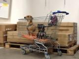 waiting....at Ikea