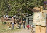 Artists at Judy Archibald Ranch