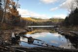 Sur le barrage à castor