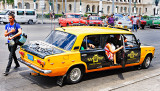 Stretch Lada Taxi