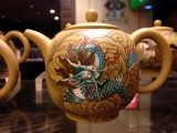 Freehand Dragon Teapot