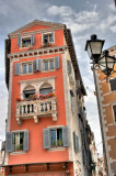 nice building in Rovinj old town